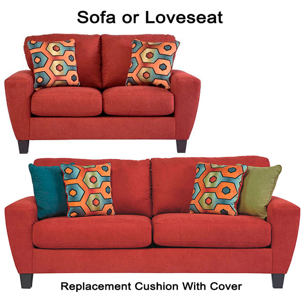 ashley sagen replacement cushion cover 9390338 sofa or 9390335 love. Black Bedroom Furniture Sets. Home Design Ideas