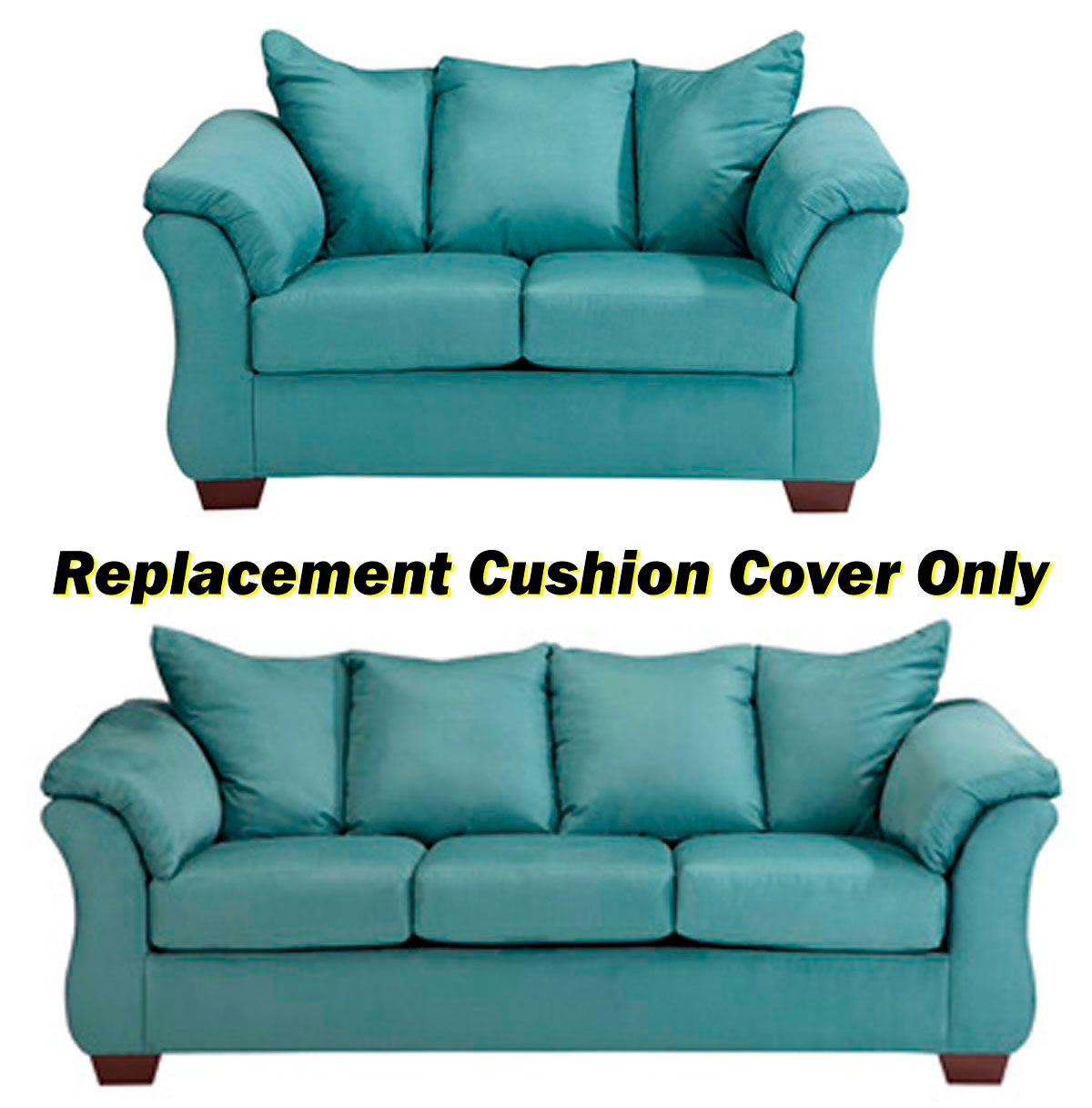 Ashley Darcy Replacement Cushion Cover Only 7500638 Or 7500635 Sky