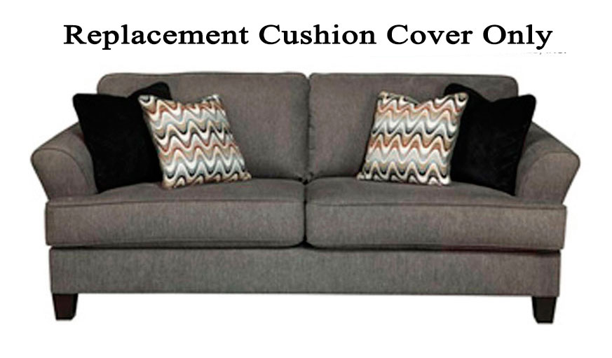 ashley gayler sofa replacement cushion cover only 4120138 gray. Black Bedroom Furniture Sets. Home Design Ideas