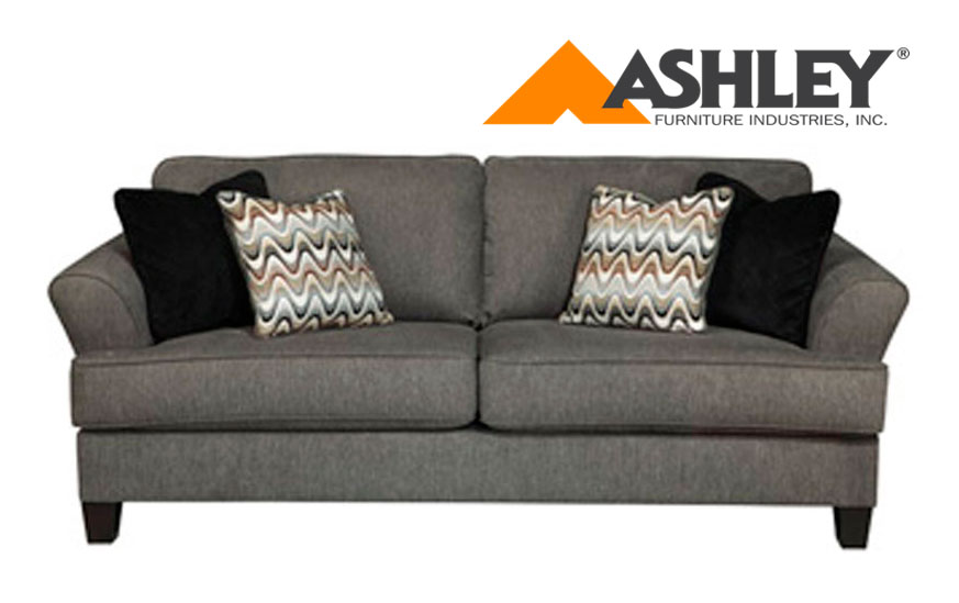 Ashley Ler Sofa Replacement Cushion Cover Only 4120178 Gray