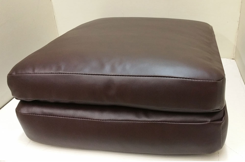 Serta replacement cushion and cover bomber chocolate 4500 sofa or loveseat Loveseat cushion covers