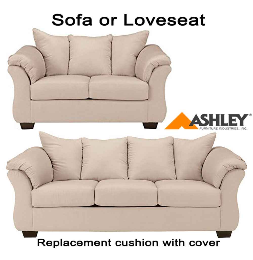 Ashley Darcy Replacement Cushion Cover 7500038 or 7500035 Stone