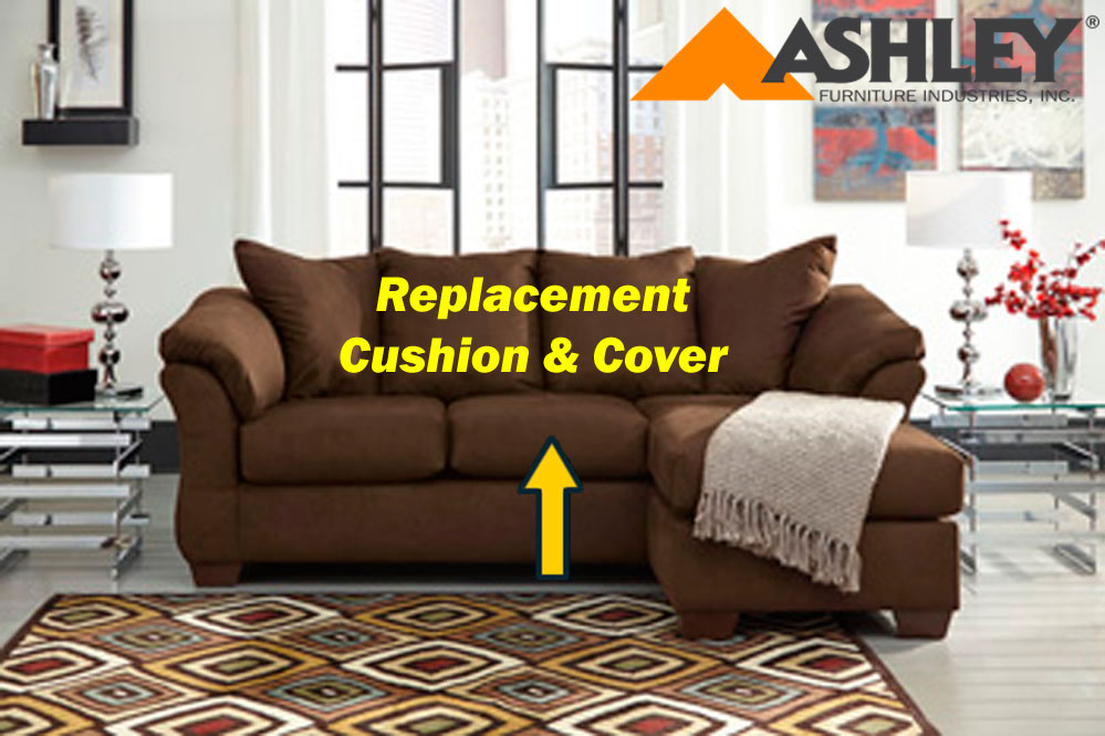 Ashley 174 Darcy Replacement Cushion And Cover 7500418 Cafe