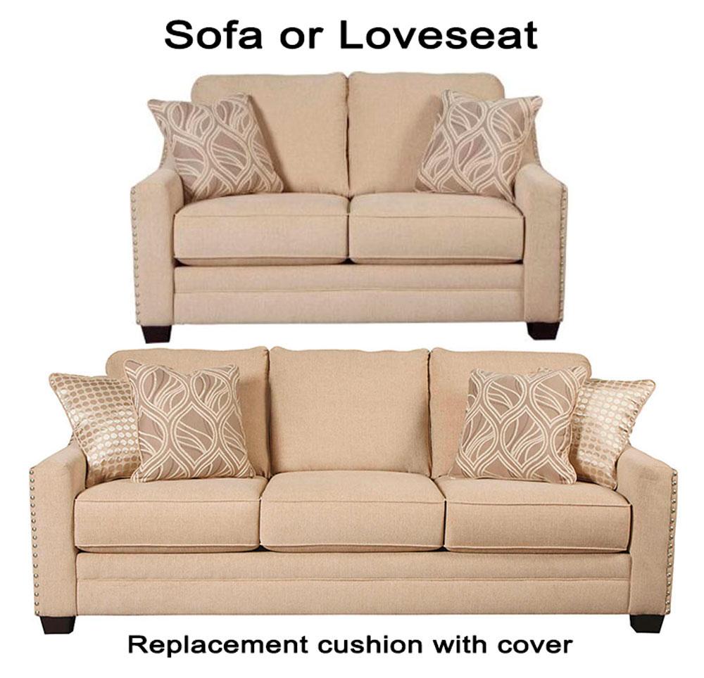 Ashley Mauricio Replacement Cushion Cover 8160138 Sofa Or 8160135 Love