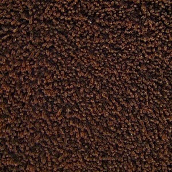 Coffee Bean Bamboo Shag Rug
