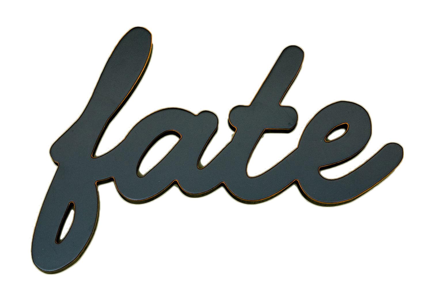 Fate Word Decor
