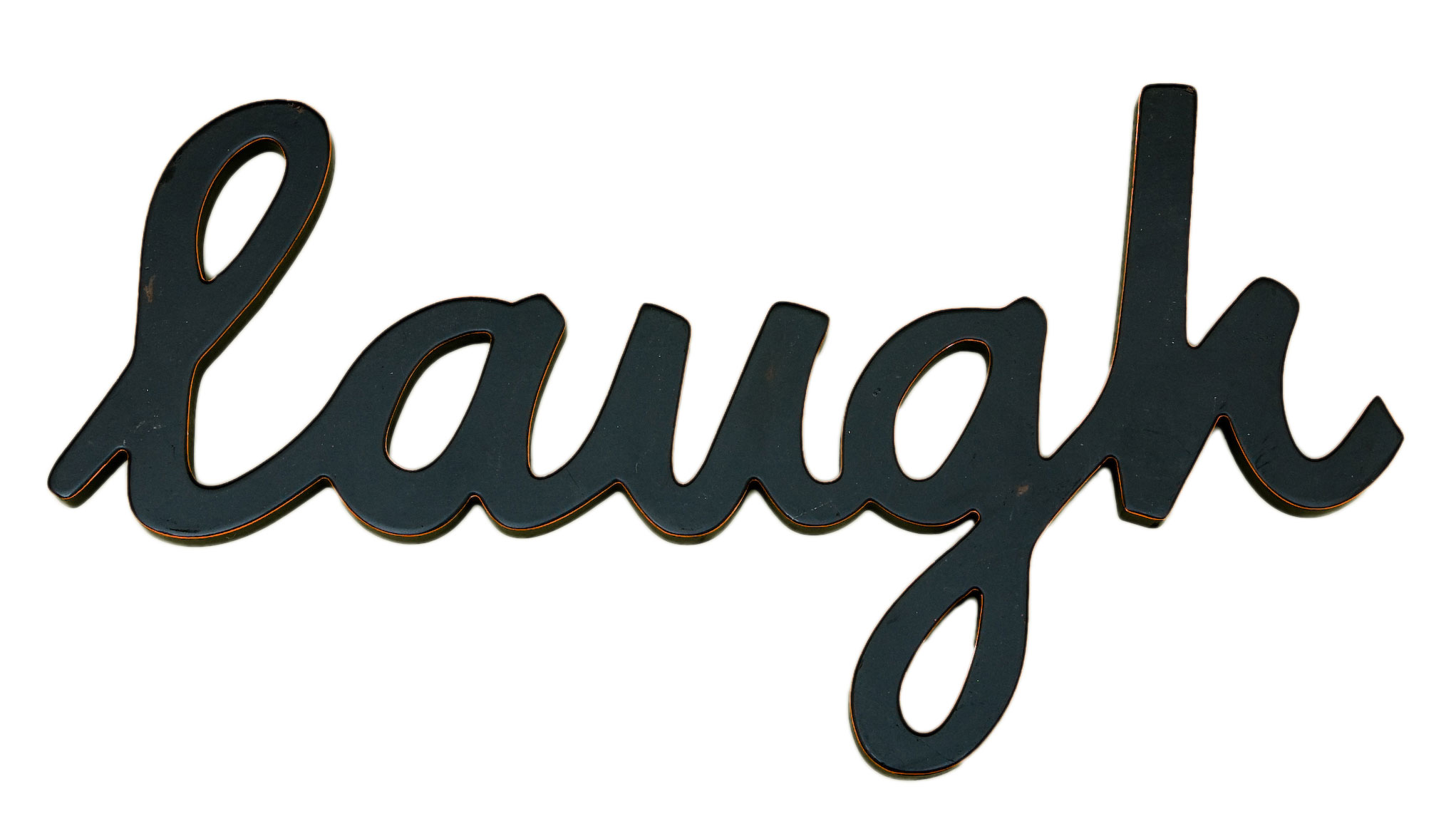 Laugh word decor for Decoration word