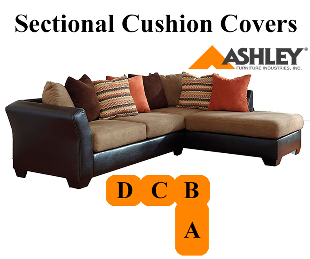Ashley armant sectional right chaise mocha replacement for Ashley mocha sectional with chaise