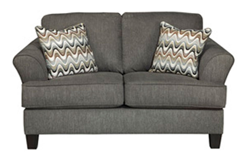 Ashley Gayler Love Seat Replacement Cushion And Cover 4120135 Gray