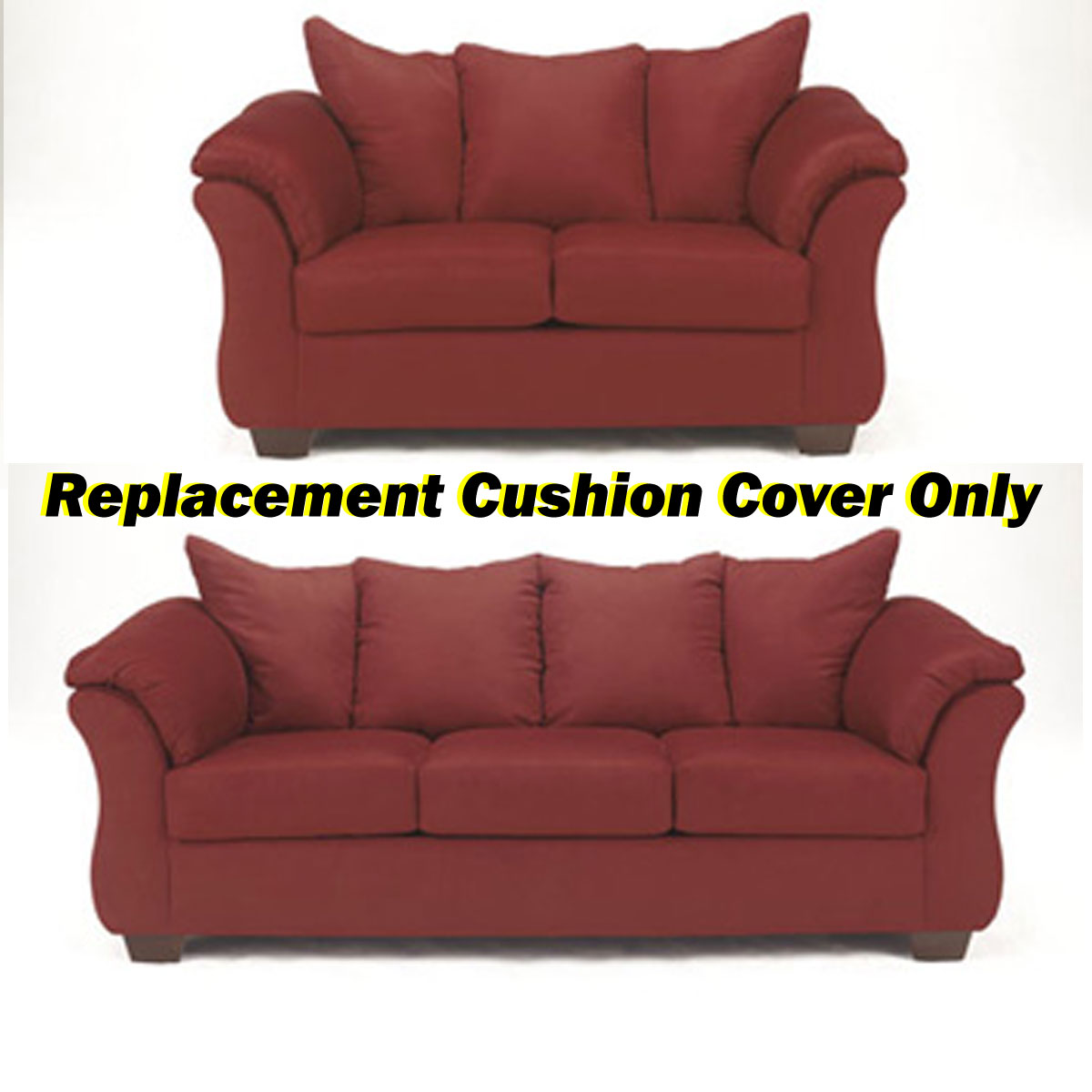 Ashley darcy replacement cushion cover only 7500138 or 7500135 salsa Loveseat cushion covers