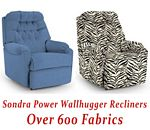 Sondra Power Wallhugger Recliner