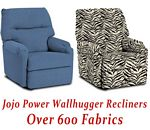 Jojo Power Wallhugger Recliner