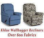 Khloe Wallhugger Recliner