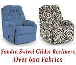 Sondra Swivel Glider Recliner