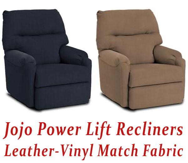 Jojo Power Lift Recliner in Leather-Vinyl Match  sc 1 st  Electric Recliner Lift Chair & Electric Recliner Lift Chair islam-shia.org
