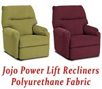 Jojo Power Lift Recliner in Polyurethane