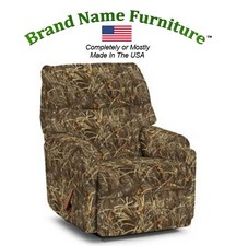 Camouflage Recliner Rocker in Realtree� Advantage Max