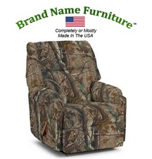 Camouflage Recliner Rocker in Realtree� AP Hardwoods