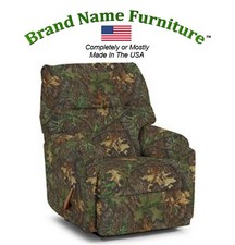 Camouflage Recliner Rocker in Mossy Oak� Obsession