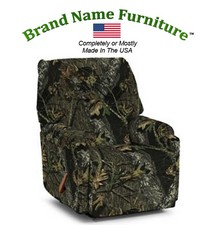 Camouflage Recliner Rocker in Mossy Oak� New Break-Up