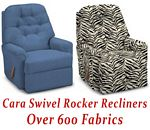 Cara Swivel Rocker Recliner