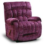 Rake Big Man Oversized Wallhugger Recliner in Leather-Vinyl Match