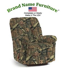 Camouflage Recliner Rocker in Mossy Oak® Infinity