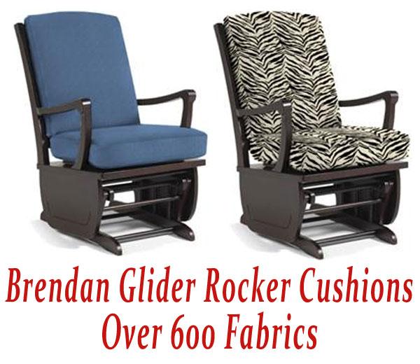 Glider Rocker Cushions for Brendan Chair