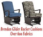 Glider Rocker Cushions for Brendan Chair