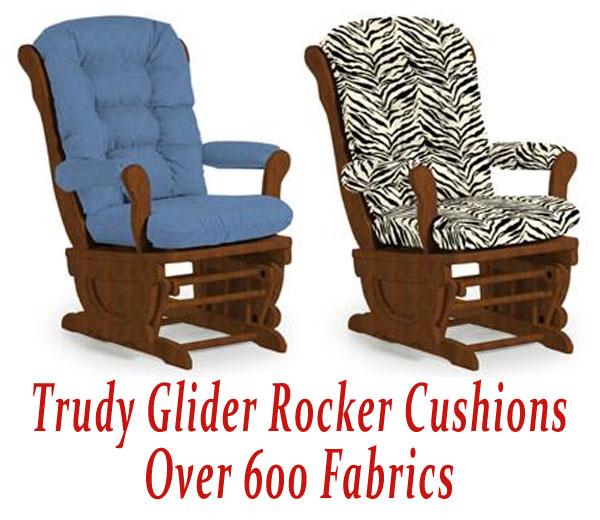 Glider Rocker Replacement Pads