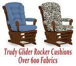 Glider Rocker Cushions for Trudy Chair