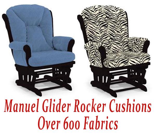 Glider Rocker Cushions for Manuel Chair