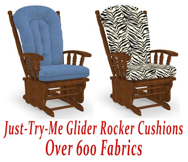 Glider Rocker Cushions for Just-Try-Me Chair