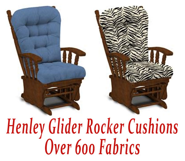 Glider Rocker Cushions for Henley Chair