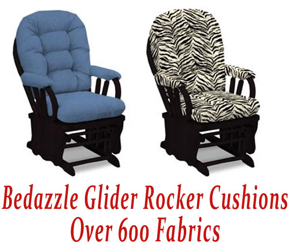 Glider Rocker Cushions for Bedazzle Chair