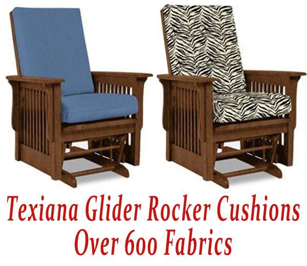 Glider Rocker Cushions for Texiana Chair