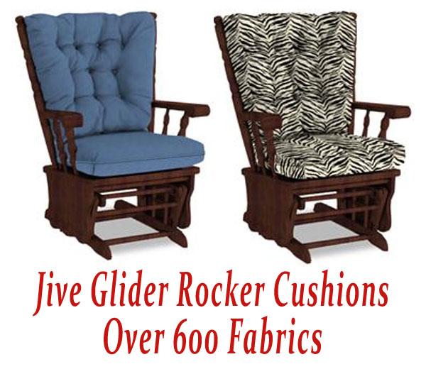 Glider Rocker Cushions for Jive Chair