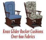 Glider Rocker Cushions for Knox Chair