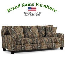 Camouflage Sofa in Realtree� AP Hardwoods