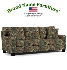Camouflage Sofa in Mossy Oak� Infinity