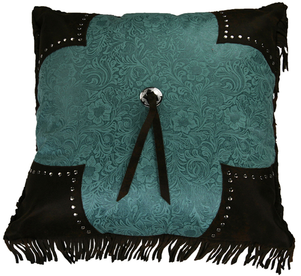 Cheyenne luxurious western turquoise comforter bedding set