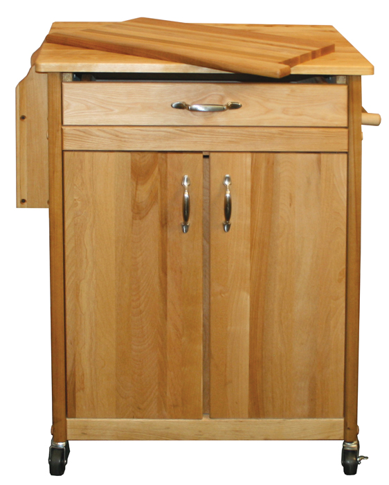 the cook 39 s butcher block kitchen island cart. Black Bedroom Furniture Sets. Home Design Ideas