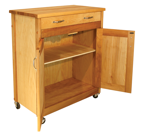 Designer Butcher Block Kitchen Island