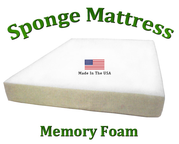 Twin Sponge Mattress Memory Foam 8 Total Thickness