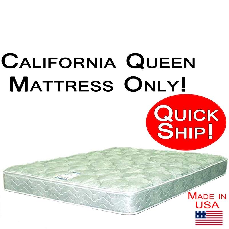 California Queen Size Abe Feller Mattress Only Good