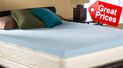 Gel Memory Foam Mattress Toppers