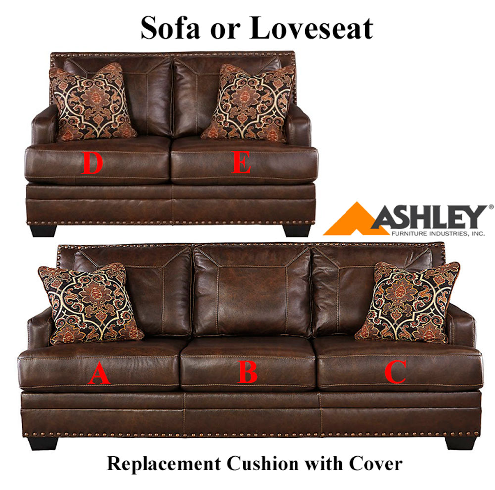 ashley corvan replacement cushion cover 6910338 sofa or 6910335 love. Black Bedroom Furniture Sets. Home Design Ideas