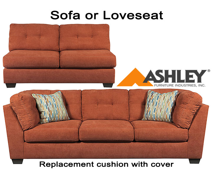 ashley delta city replacement cushion cover 1970138 sofa or 1970134 love. Black Bedroom Furniture Sets. Home Design Ideas