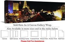 Las Vegas The Strip American Landmark in Nevada-13 Canvas Wrap 48