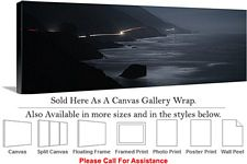 Big Sur Highway Along a Coast California Landscape Canvas Wrap 48